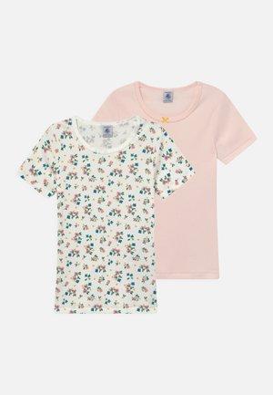 2 PACK - T-Shirt print - light pink
