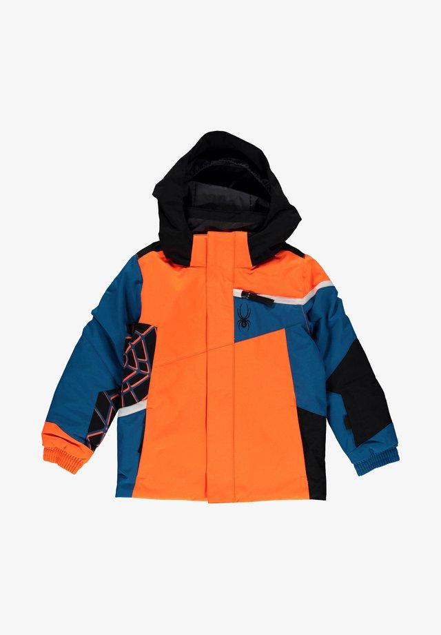 Outdoor jacket - blau / orange