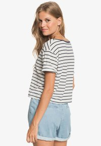 Roxy - Print T-shirt - snow white kuta stripes - 2