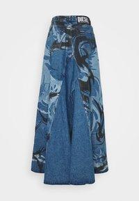 Diesel - DE SPIZ SKIRT - Maxi skirt - blue denim - 1