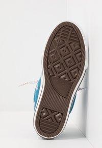 Converse - CHUCK TAYLOR ALL STAR STREET - Zapatillas altas - egyptian blue/bold mandarin - 4