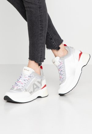 DEXIE - Sneakers basse - white/grey