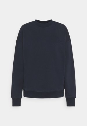 LOGO SWEATER - Mikina - navy