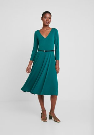 DRESS - Vestito di maglina - bottle green