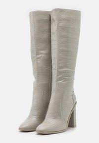 RAID - CELENI - High heeled boots - grey - 2