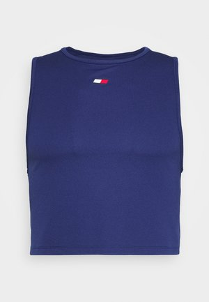 PERFORMANCE TANK  - Sports shirt - blue