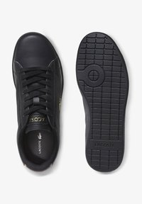 Lacoste - CARNABY EVO  - Baskets basses - blk/blk - 1