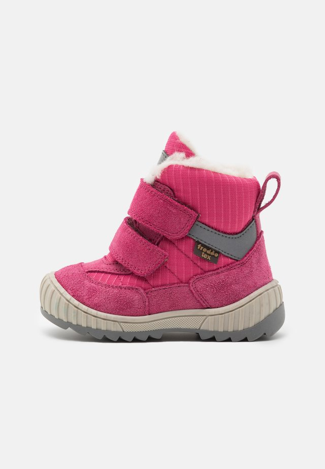 SNOW TEX DOUBLE MEDIUM FIT - Winter boots - fuxia