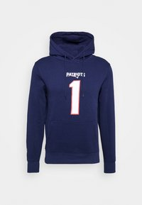Fanatics - NFL CAM NEWTON NEW ENGLAND PATRIOTS ICONIC NAME NUMBER GRAPHIC - Hoodie - navy - 4