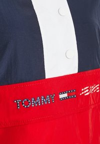 Tommy Jeans - COLORBLOCK LOGO - Windbreaker - deep crimson/multi - 5