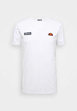 FEDORA - T-shirt imprimé - white
