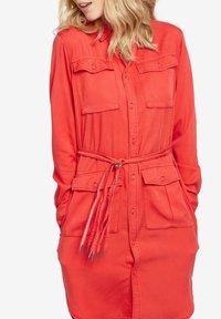 khujo - LEANNA - Shirt dress - red - 5