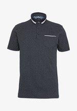 GEO PRINT - Poloshirt - navy