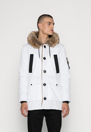 PARKLEA JACKET - Winter coat - white