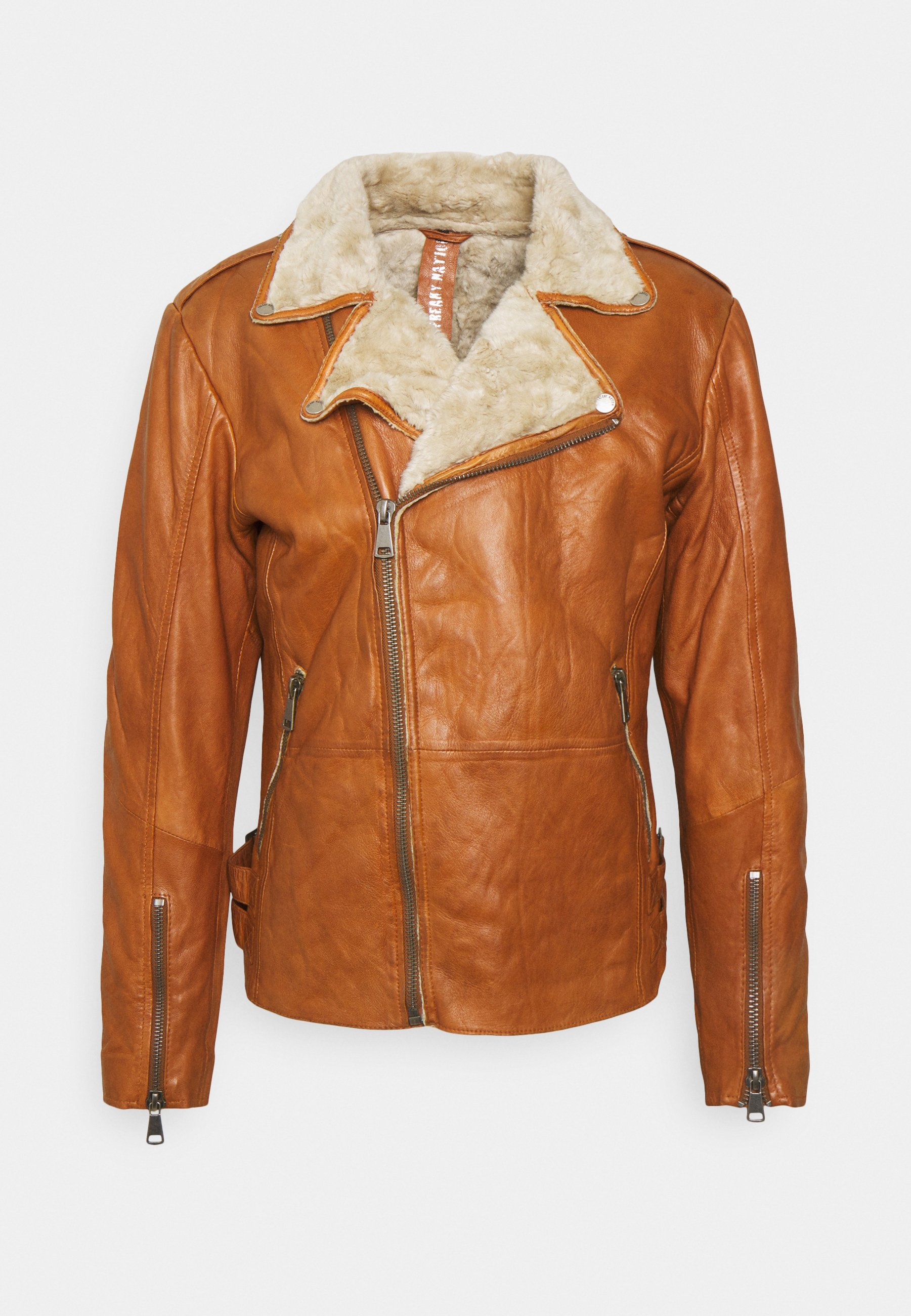 Men BJÖRN - Leather jacket