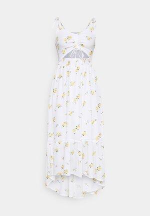 CHAIN DRESS - Day dress - white