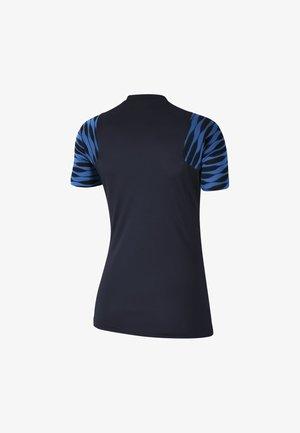 STRIKE 21 - Print T-shirt - obsidian/royal blue/white/white