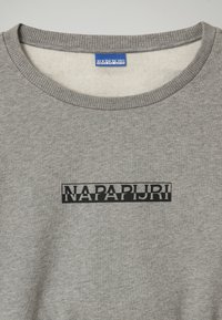 Napapijri - B-BOX CROPPED C - Sweatshirt - medium grey melange - 1