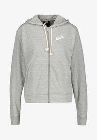Nike Performance - GYM VINTAGE - Zip-up hoodie - grey - 0