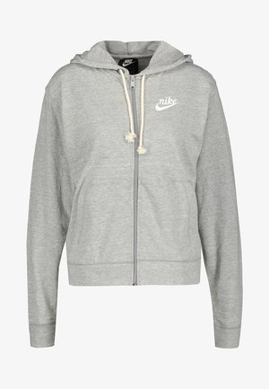GYM VINTAGE - veste en sweat zippée - grey