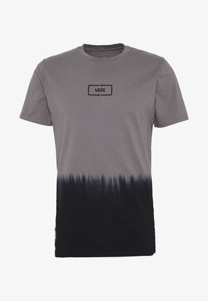 DIP DYED  - Print T-shirt - black