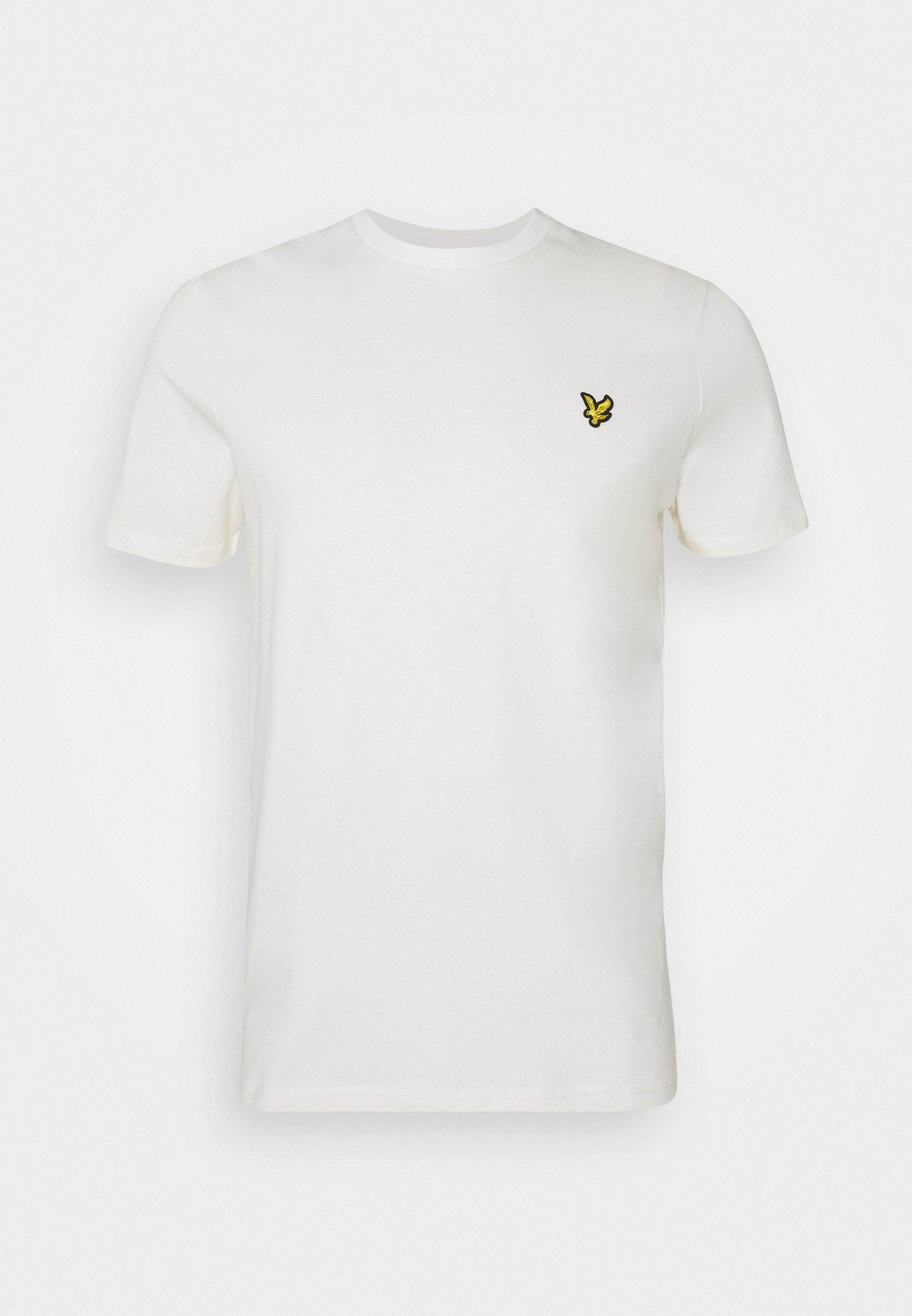 Lyle & Scott T-shirts - Vanilla Ice/offwhite