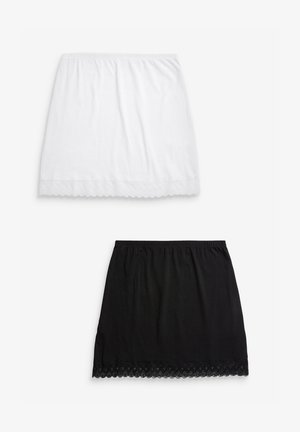 2 PACK - Intimo modellante - white/black