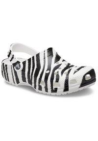 Crocs - ANIMAL PRINT  - Zoccoli - white / zebra print - 1