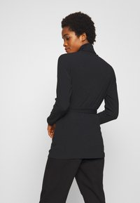 New Look - ROLL NECK - Strikkegenser - black - 2