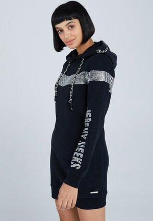 GIUSTA - Jersey dress - schwarz