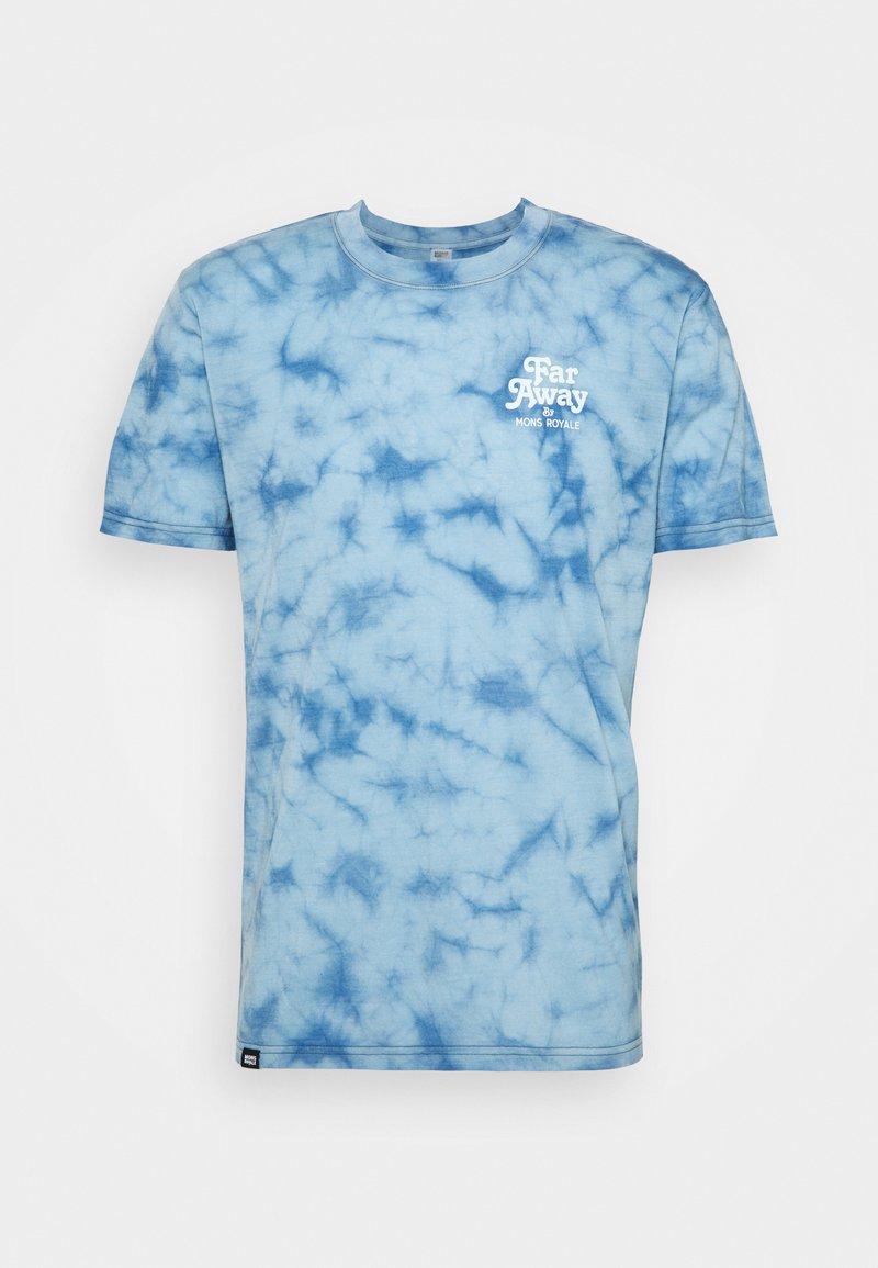 Mons Royale - ICON  - Print T-shirt - dark denim