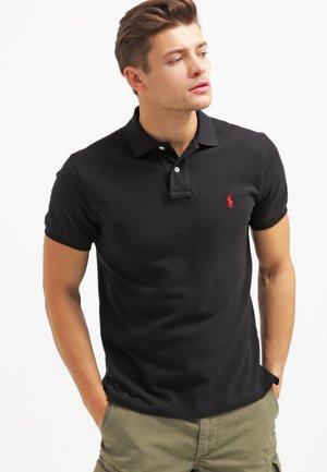 CUSTOM FIT - Polo shirt - black