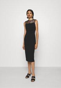 WAL G. - LAURYN MIDI DRESS - Cocktail dress / Party dress - black - 0