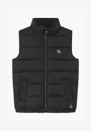 ESSENTIAL PUFFER - Vest - black