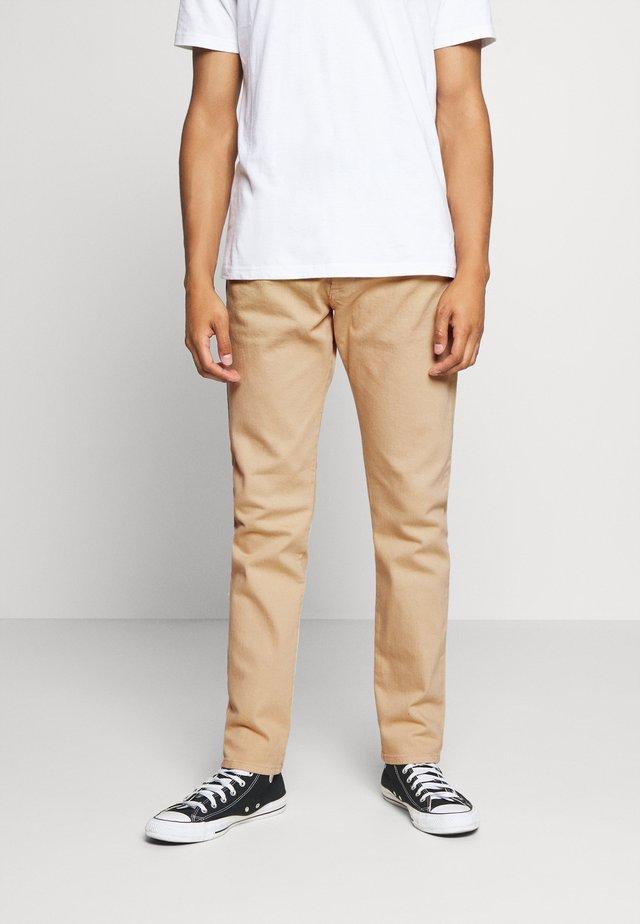 D-YENNOX - Slim fit -farkut - beige