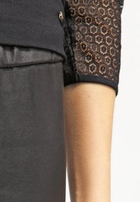 MICHAEL Michael Kors - Leather trousers - black - 4