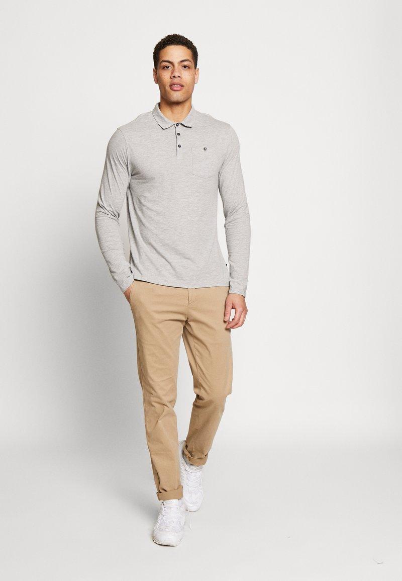 Burton Menswear London - 2PACK - Polo shirt - black/grey
