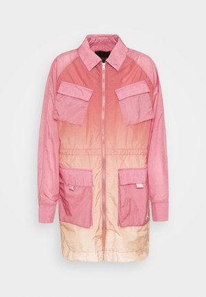 WINDBREAKER - Summer jacket - desert berry/laser orange