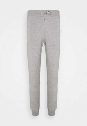 BASIC SLIM FIT JOGGERS - Tracksuit bottoms - grey marl