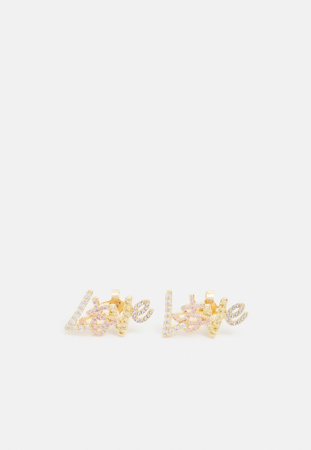 WILMA EARRINGS - Boucles d'oreilles - gold-coloured