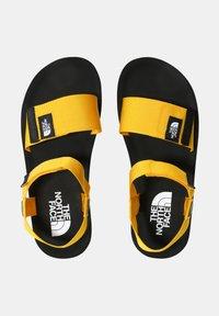 The North Face - M SKEENA SANDAL - Walking sandals - summit gold tnf black - 2