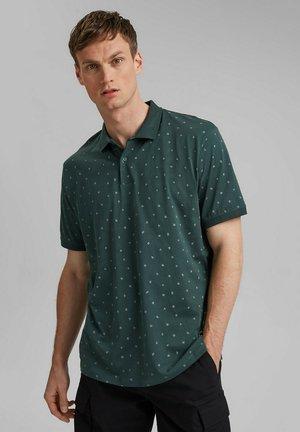 AOP - Polo shirt - teal blue