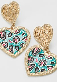 LIARS & LOVERS - ANIMAL PRINT - Pendientes - multicolor