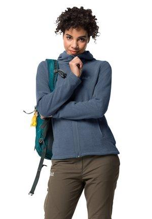SKYWIND - Fleece jacket - frost blue