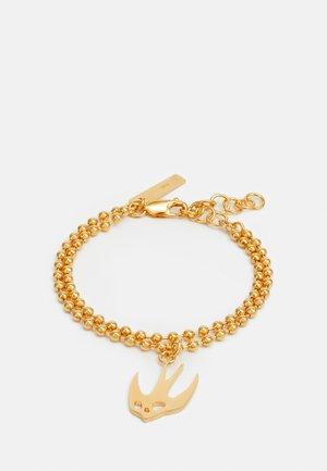 SWALLOW BRACELET - Bracelet - gold-coloured