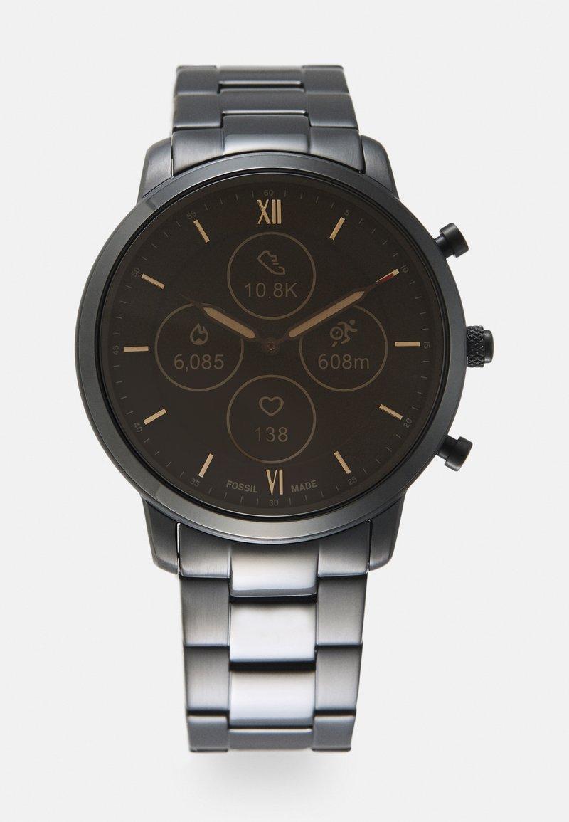 Fossil Smartwatches - NEUTRA HYBRID SMARTWATCH - Hodinky - black