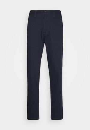 SLHSLIMTAPERED PANTS  - Trousers - dark sapphire