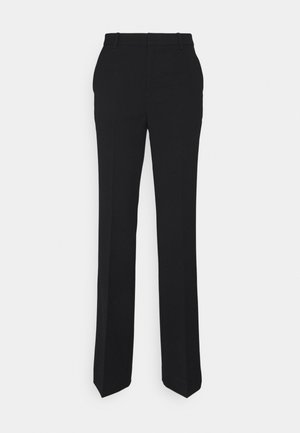 FIONA ELONGATED - Pantalon classique - black