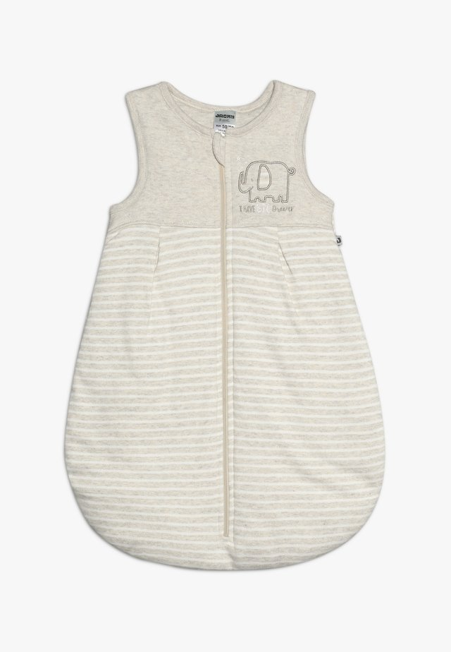 Śpiworek niemowlęcy - beige melange