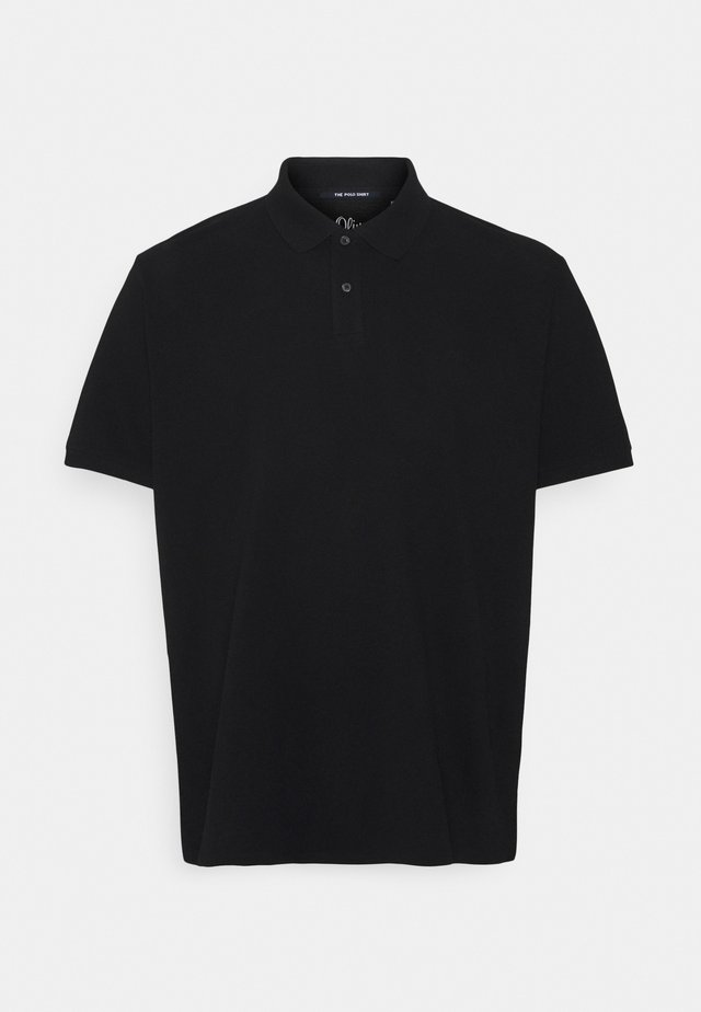BASIC BIG - Poloshirt - black